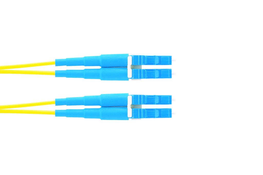 PAND F92ERLNLNSNM001 2-Fiber, OS2,LC-LC duplex, 1.6mm, Riser, 1M