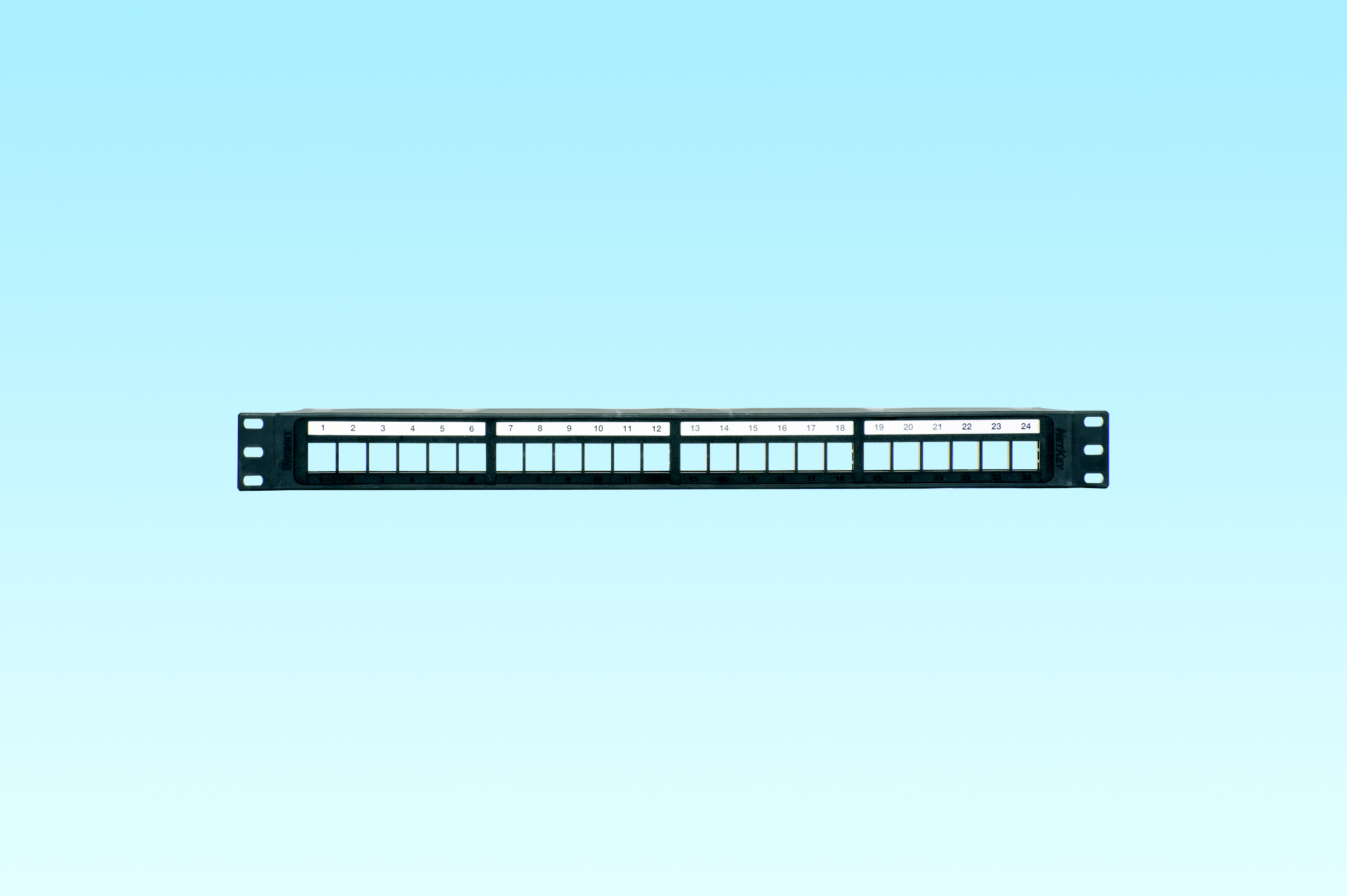 PAND NKPP24P NK 24 PORT ALL MOLDED MODULAR PATCH PANEL