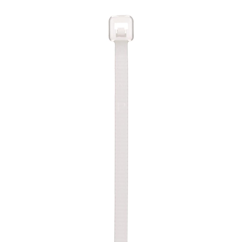 18 lb Black 100 mm 2.5 mm Cable Tie Polyamide 6.6 20 mm Nylon 6.6