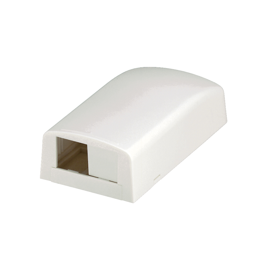 PAND CBX2EI-AY SURFACE MOUNT BOX 2 PORT ELECTRIC IVORY