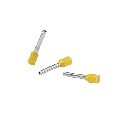 Insulated single wire ferrules (DIN or French color code) FSD84-12-C