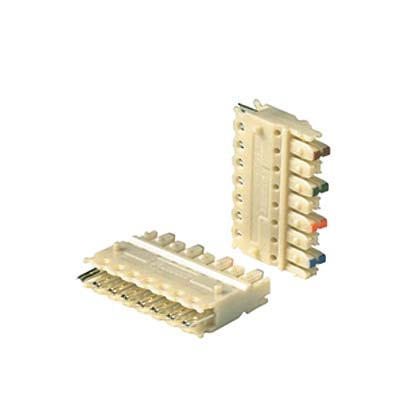 4 Pair 110 Connecting Block, 10 Pack, Punchdown Connecting Block