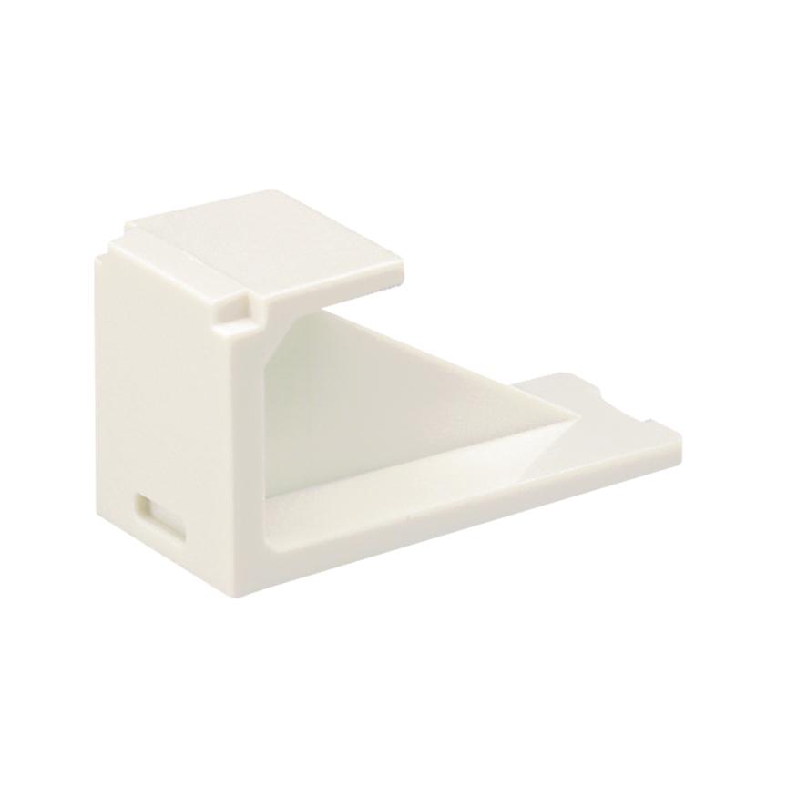2 ea.10-Packs NEW Panduit CMBWH-X Mini-Com Blank Module C White 20 each