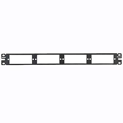 Fiber Adapter Patch Panel 1 Rack Unit for use with FMT1