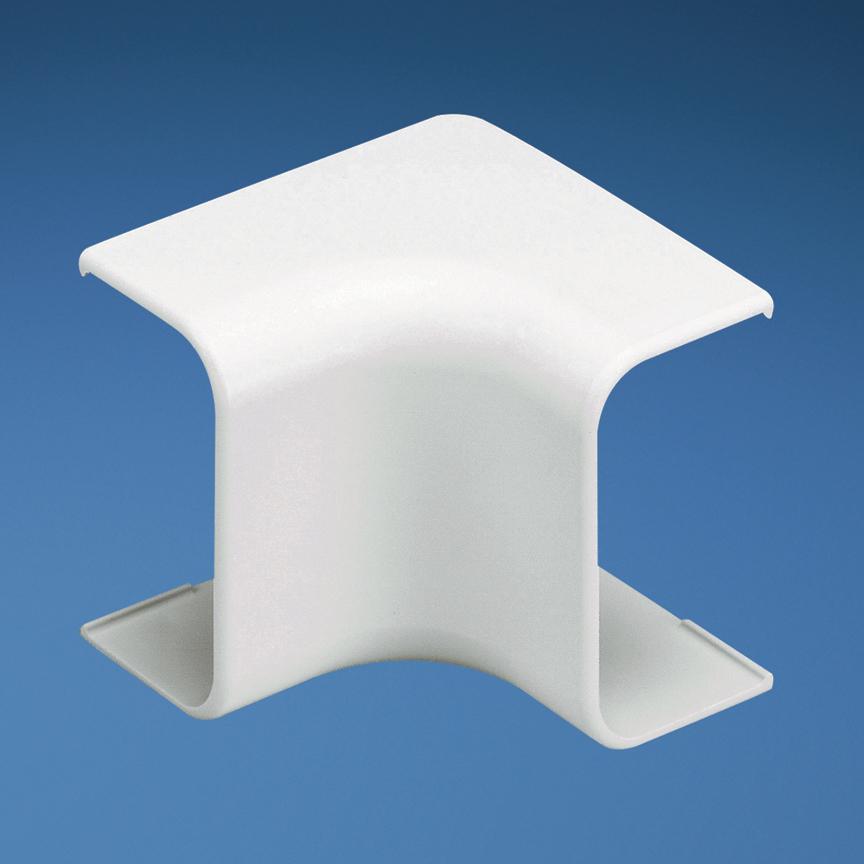 PANDUIT ICF5WH-E WHITE LD5 INSIDE CORNER FITTING
