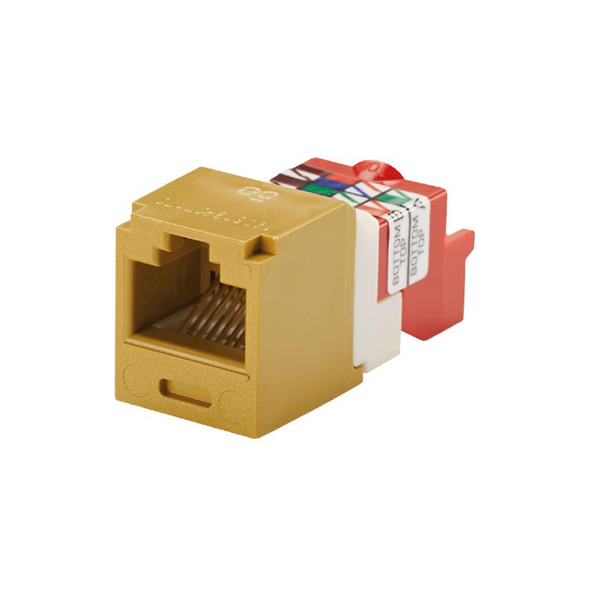 UTP 8-Position PANDUIT CJ5E88TIG Mini-Com Module Intl Gray 20 Category 5e