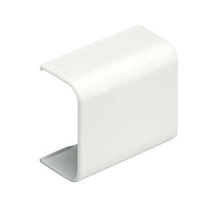 PANDUIT Coupler fitting for use with LD10 raceway, Electric Ivory, ABS, Length 2.00 in.
