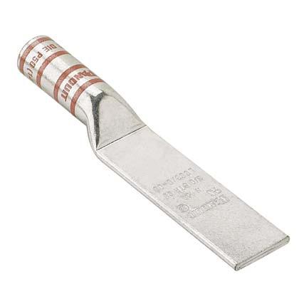 PAN LCC600-00-6 CuLug,Blank,600kcmi
