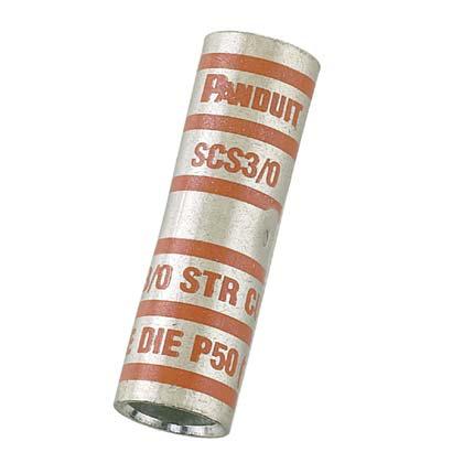 Panduit SCS300-X Standard Barrel Copper Compression Butt Splice