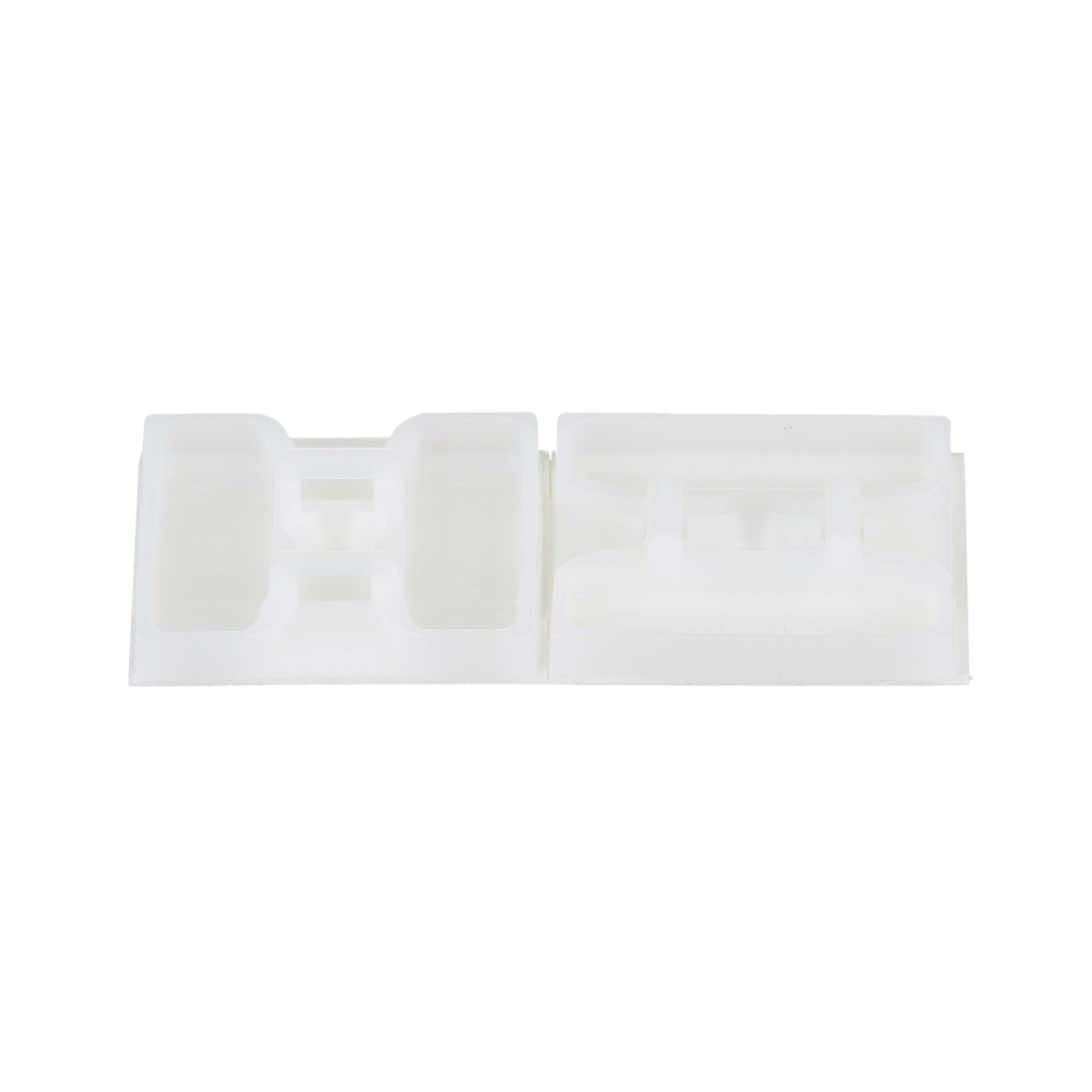 Panduit ABMS-A-C 100/Pack 1.1 Inch x 1.1 Inch 27.9 mm x 27.9 mm Adhesive Cable Tie Mount