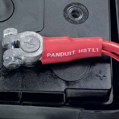 Panduit HST0.8-6-XY .8 Inch (20.3mm) Thick Wall Adhesive Lined Heat Shrink Tubing