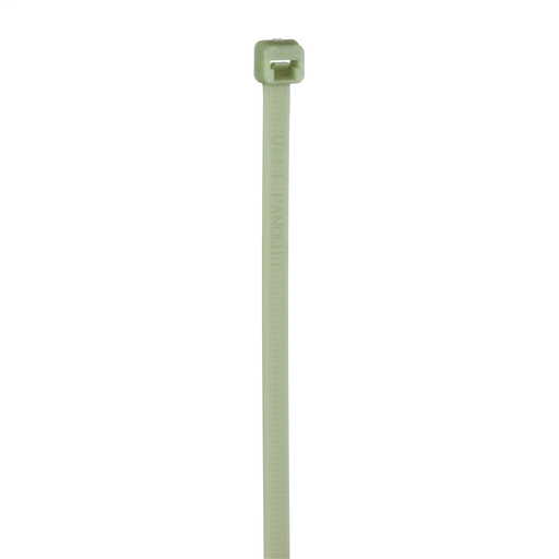 Pan-Ty® locking tie, standard cross section, 7.4, polypropylene, green.
