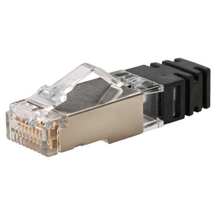 PAND SPS688-C Category 6 ShieldedModular Plug, 100 Pa