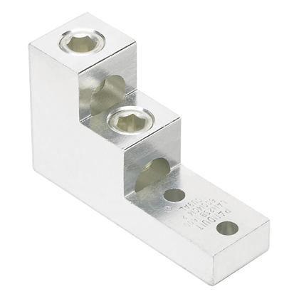 PAND LAM2SB600-38-1Y AluminumMechanical Lug 2 Hole 2 Barre