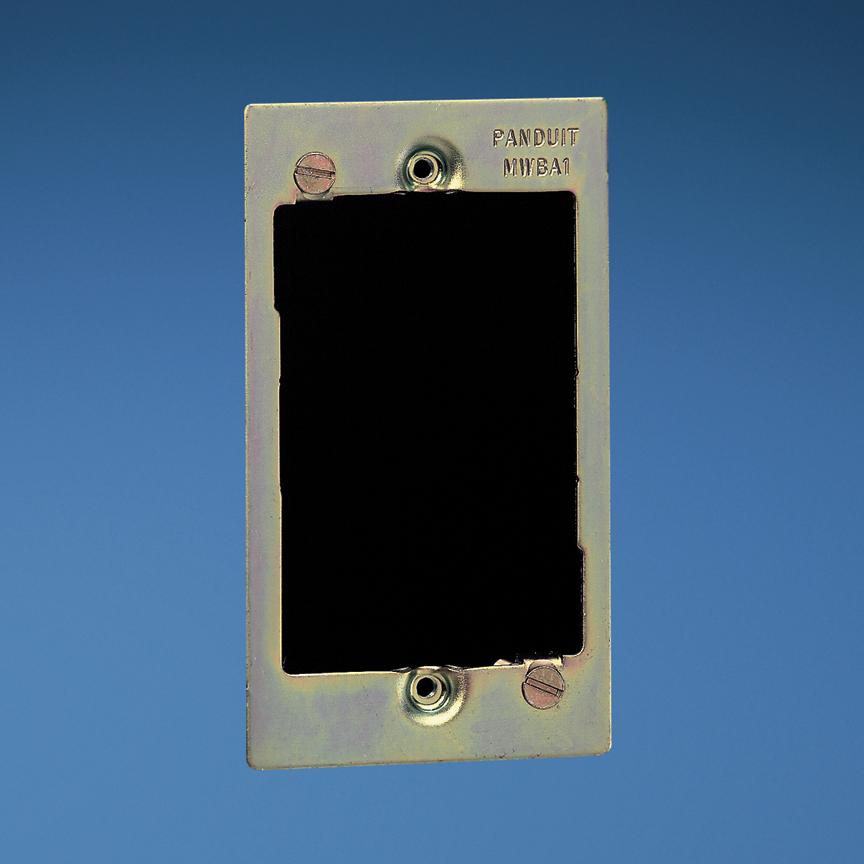 PAND MWBA1 Wall Board Adapter,2Port,SG,EA