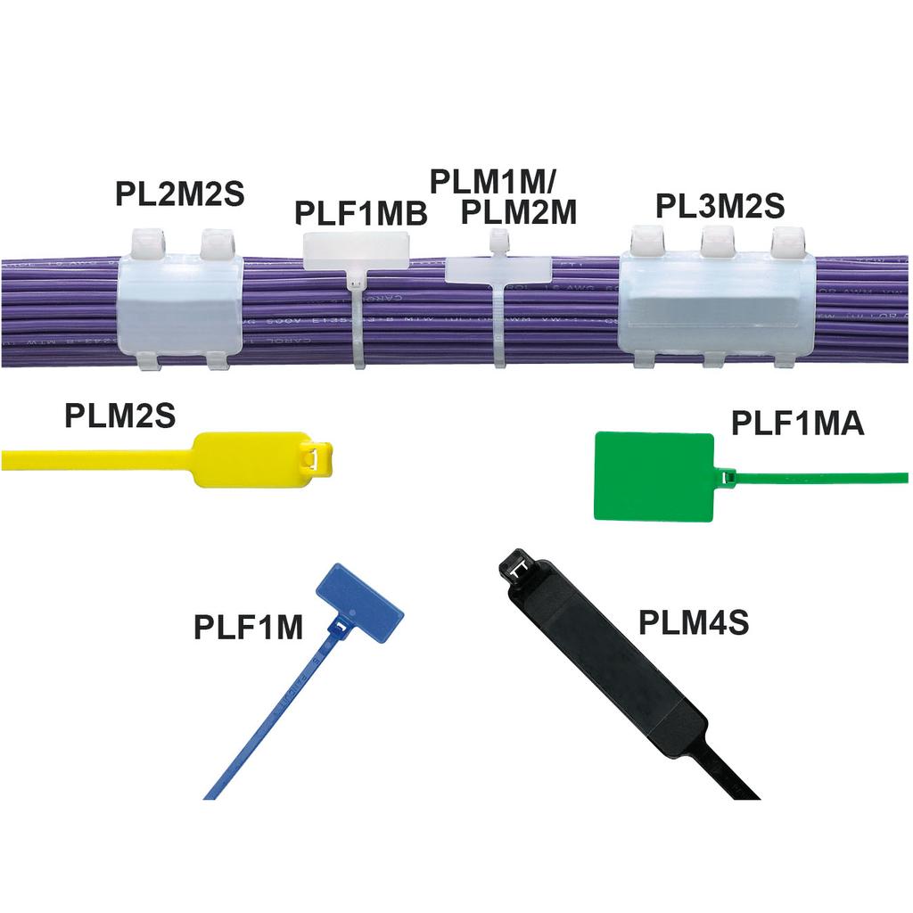 PAN PL3M2S-D4Y MkrTie,Wrap,Std,7.4i