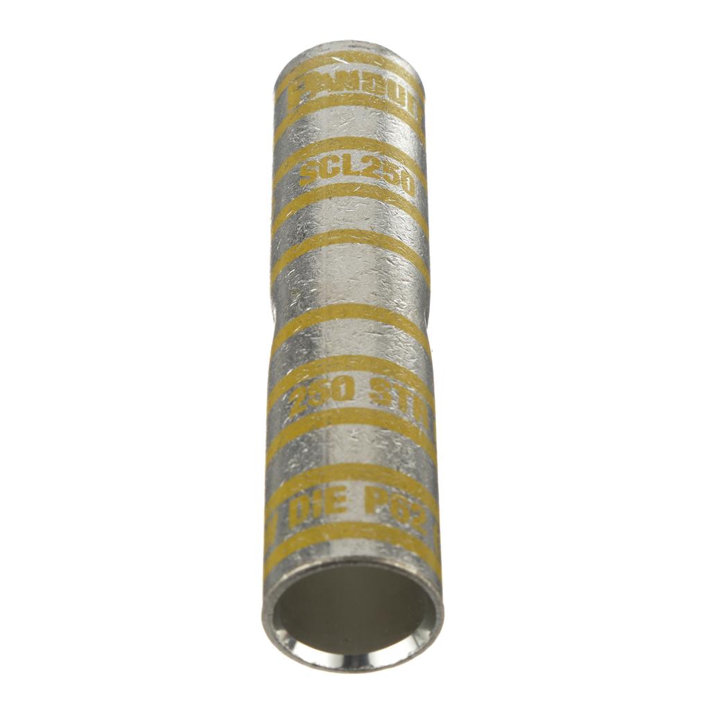 Panduit SCL250-X Long Barrel Copper Compression Butt Splice
