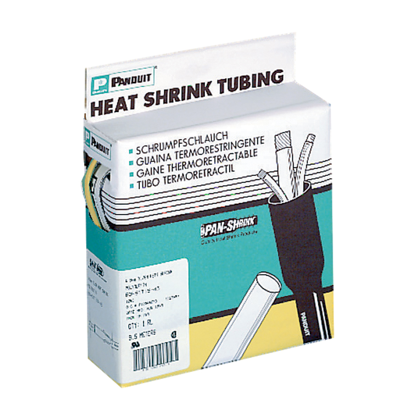 Panduit HSTT19-QC 0.19 Inch (4.8 mm) Diameter Clear Thin Heat Shrink Tubing