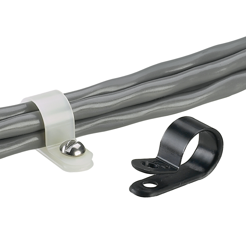 Panduit CCH100-S10-C #10 1 Inch (25.4 mm) Bundle Fixed Diameter Clamp