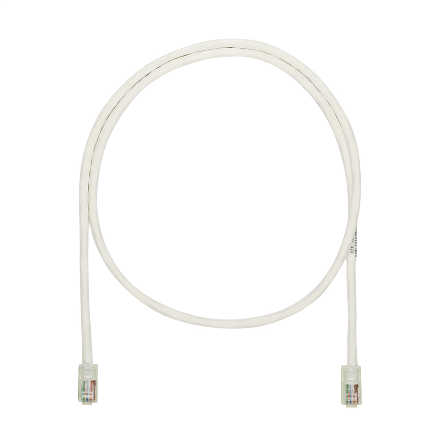 Panduit NK5EPC7Y 7 Foot Off White Patch Cord