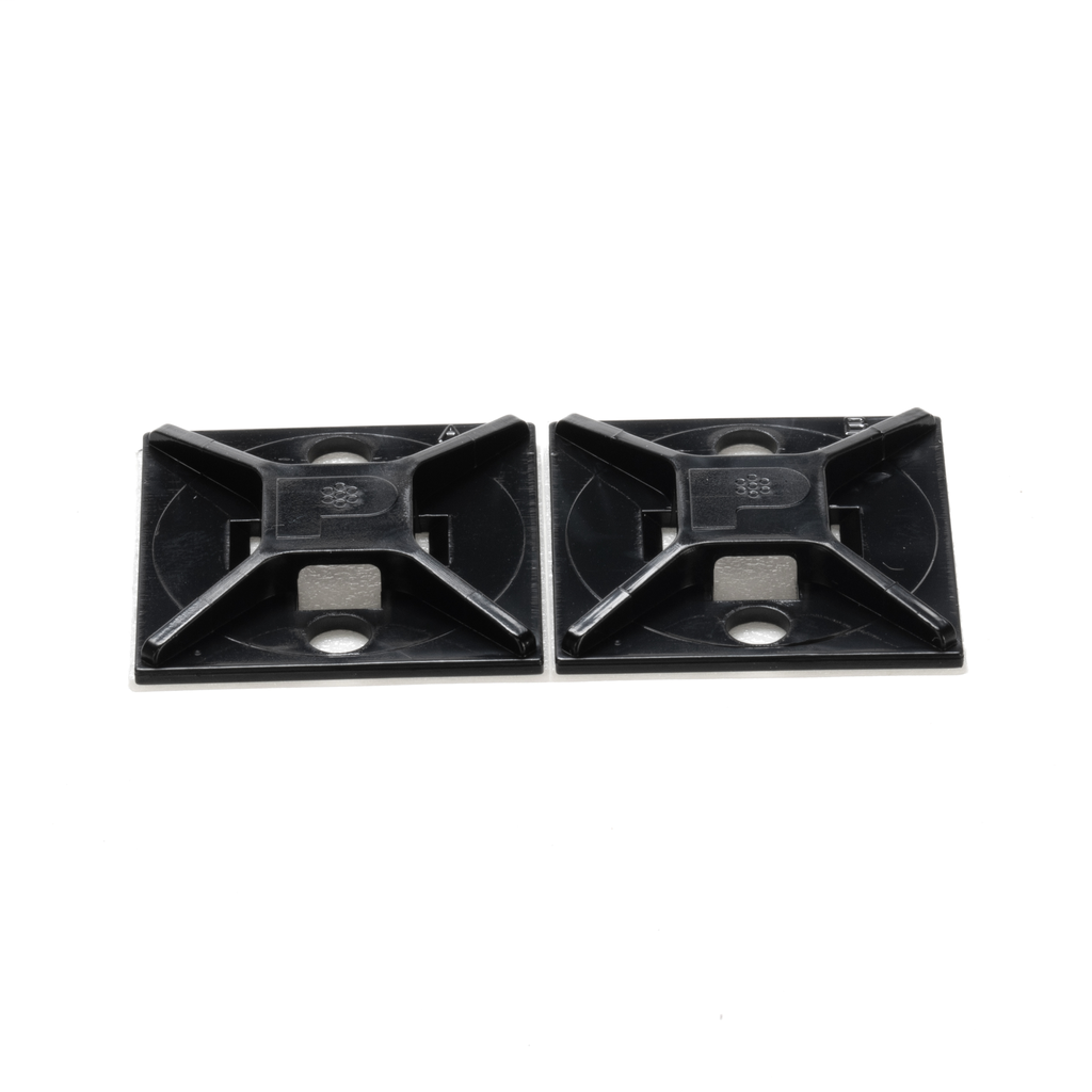 Panduit ABM2S-AT-C0 1 x 1 Inch (25.4 x 25.4 mm) High Temperature Adhesive Cable Tie Mount