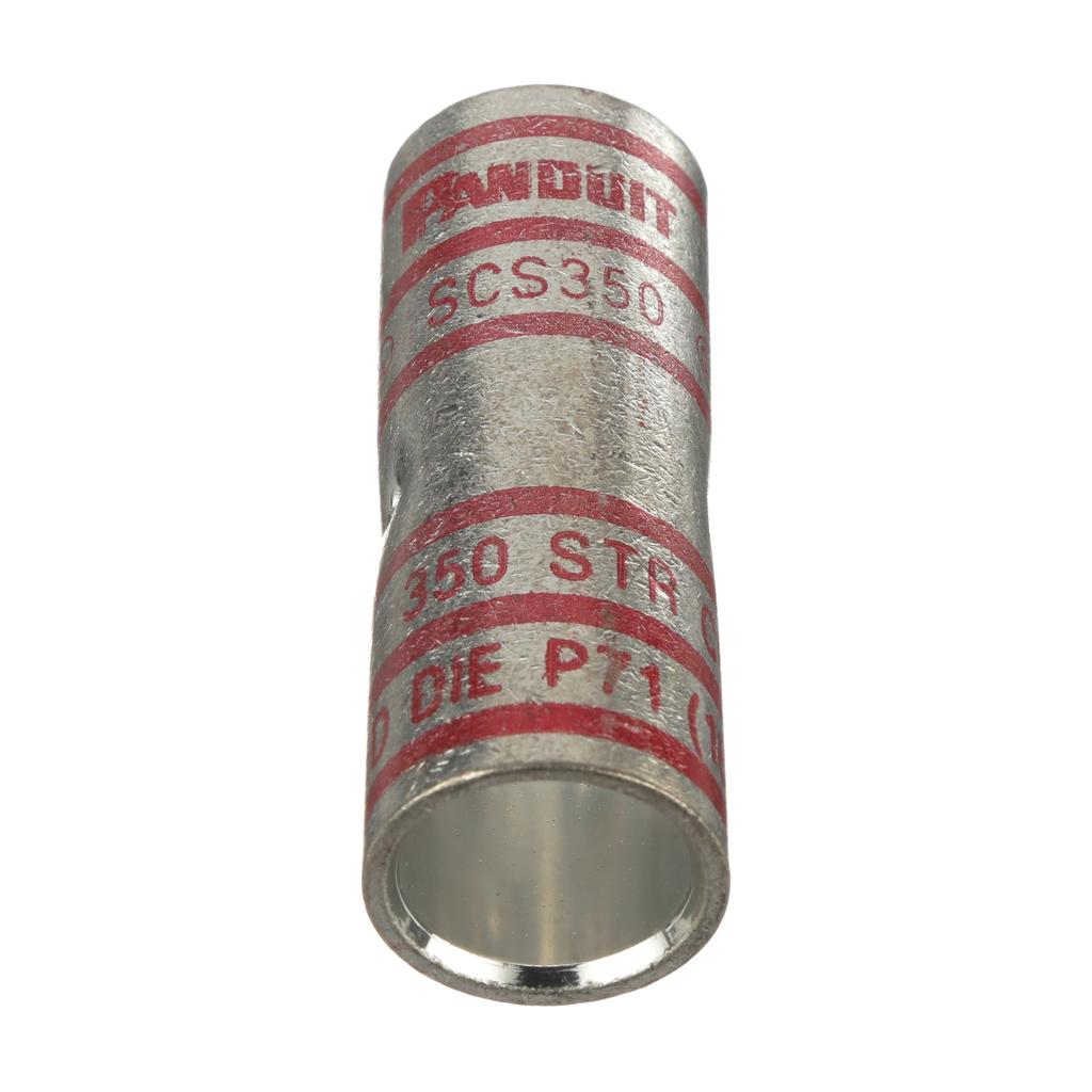 Panduit SCS350-X Standard Barrel Copper Compression Butt Splice