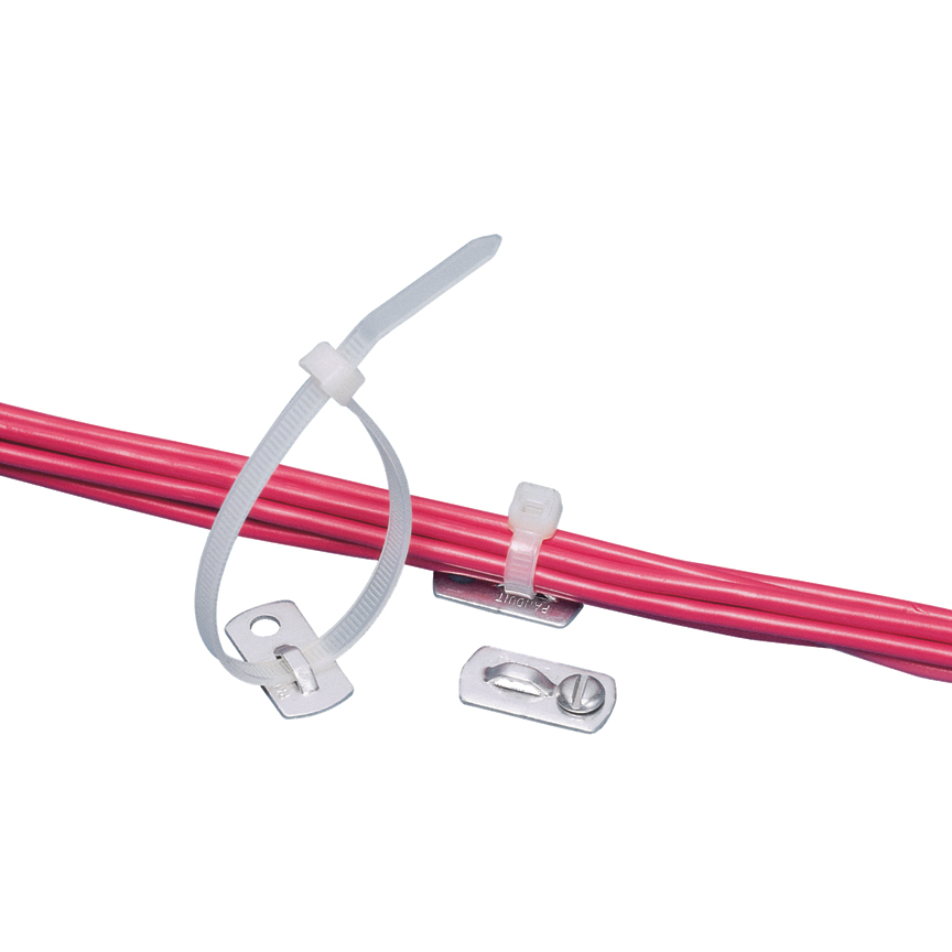 Panduit MBMS-S10-MY Metal #10 Screw Cable Tie Mount