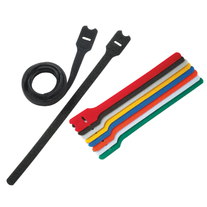 Panduit HLT2I-X0 10/Pack 8.0 x .50 Inch (203 x 12.7 mm) Hook and Loop Roll Cable Loop Tie