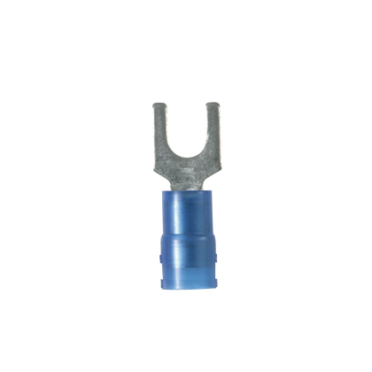 Panduit PN14-14F-M 18-14 AWG Nylon Insulated Fork Terminal