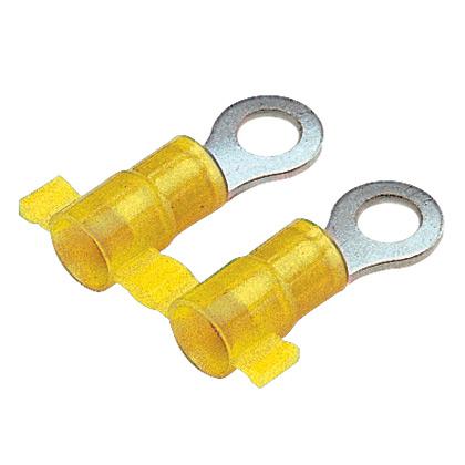 Panduit PN10-10R-2K 12-10 AWG Nylon Insulated Ring Terminal