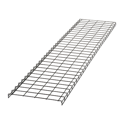The Wyr-Grid® Pathway protects cables between the Main Distribution Area and the Equipment Distribution Area. The Wyr-Grid® Pathway installs quickly and can be modified easily. Optional side walls snap-on without extra hardware or tools. It measures 118.4