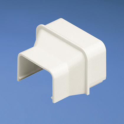 Mayer-Reducer fitting for LD raceway from size 10 to size 5. For use with LD5 and LD10 raceway. For in-line terminations, use with CF10**, White, ABS, Length 0.94 in.-1