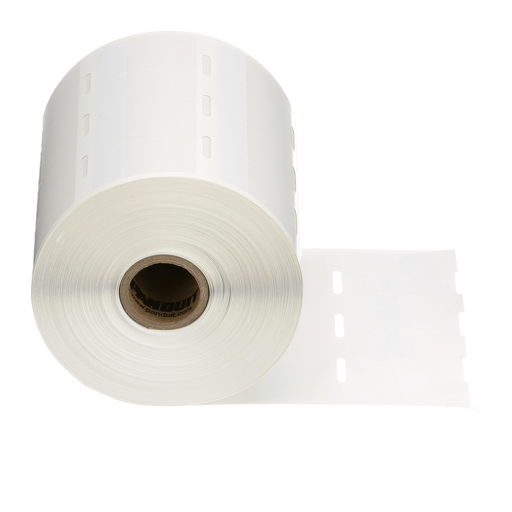 The S100X150VA1Y Thermal Transfer Vinyl Self-Laminating Label includes a white print-on area and clear overlaminate to protect the legend for easy identification. It is sized specifically for wire and cable applications. Upgrade your cable coding system w