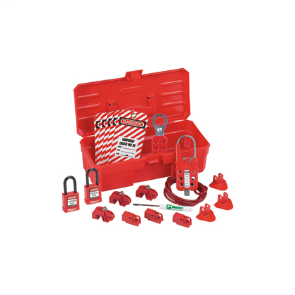 """Mayer-Contractor Lockout Kit: (1) Screwdriver (1) PSL-KT carrying case - 5.0"""" x 3.5"""" x 11.0"""" (127 x 89 x 279mm)(6) PSL-8 red non-conductive padlocks (1) PSL-1A lockout hasp - 1.0"""" (25mm) jaw diameter (1) PSL-MLD multiple lockout device(3) PSL-WS wall switch lockouts(3) PSL-CBNT """"No Tool"""" circuit breaker lockout device(3) PSL-P plug lockouts(15 Tags) PVT-98 """"EQUIPMENT LOCKED OUT BY..."""" safety tags-1"""