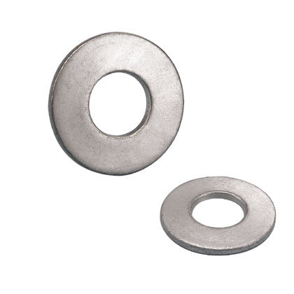 "Stainless steel mounting hardware, 3/8"" stainless steel flat washers."
