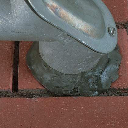 The DS5 Oil-Based Duct SealCompound seals irregular openings to protect from air, dust, or water while providing vibration dampening properties. The non-hardening sealant adheres to metal, masonry, wood, or plastic. Duct Sealant is non-corrosive, non-toxi