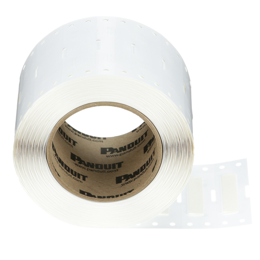 The H100X044H1T Military-Grade Polyolefin Heat-Shrink Label is single-sided printable. It offers crisp, clear legends with superior readability for quick and easy label production. The heat-shrink sleeve is designed to provide a clear, reliable, and durab