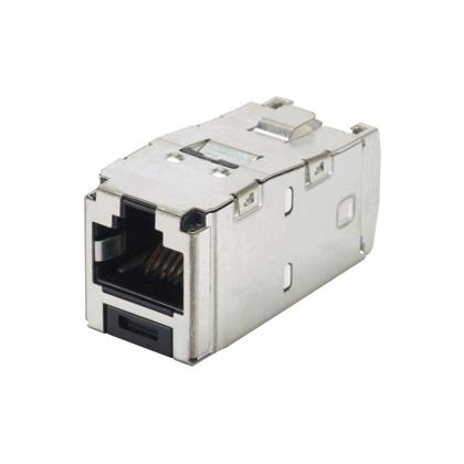 PAND CJS6X88TGY Mini-Com Module Cat6A Shielded 8 pos