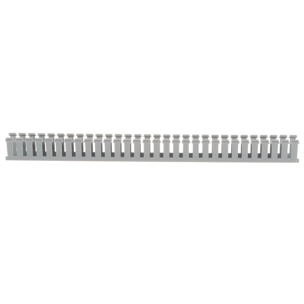 Panduit G1X2LG6 1 x 2 Inch x 6 Foot Light Gray PVC Slotted Duct