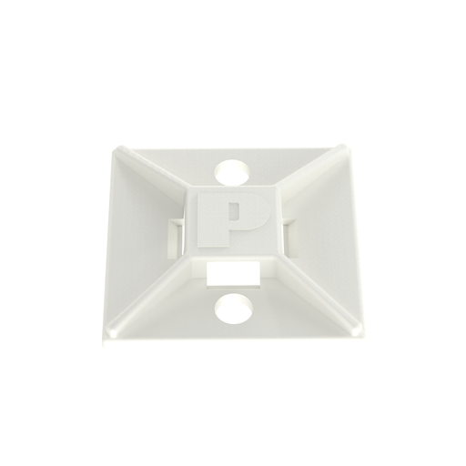 Mayer-Panduit ABM112-AT-D 4-Way Adhesive Backed Cable Tie Mount-1