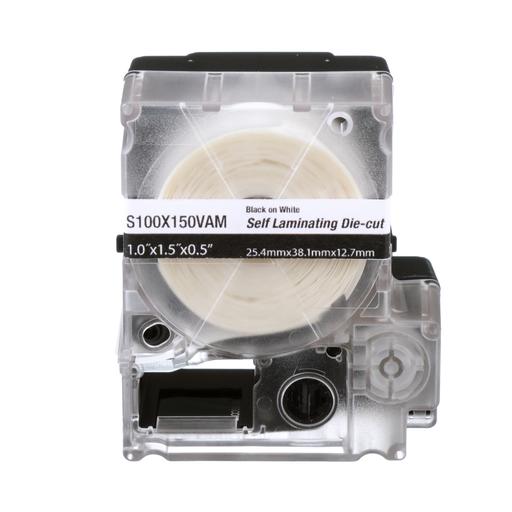Mayer-Panduit S100X150VAM MP Cassette Self-Laminating Label-1