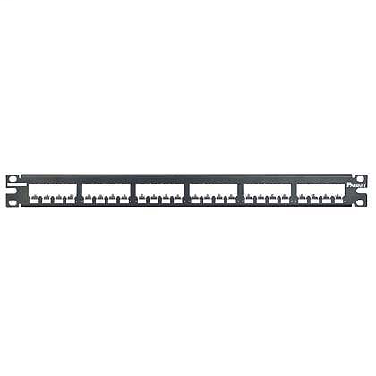 Mayer-Mini-Com® 24-Port Patch Panels, Metal, Shielded-1