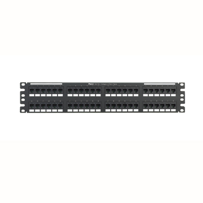 Mayer-Cat 6 Punchdown Keystone Patch Panel, 48 Port-1