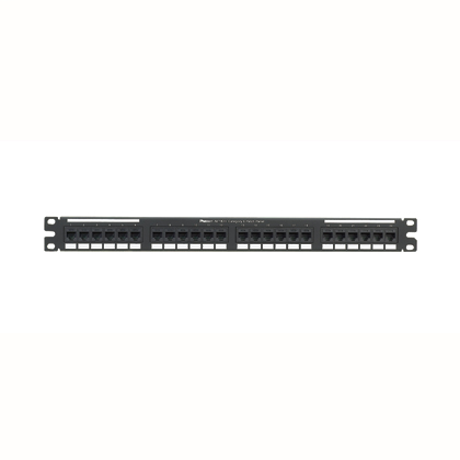Mayer-Cat 6 Punchdown Keystone Patch Panel, 24 Port-1