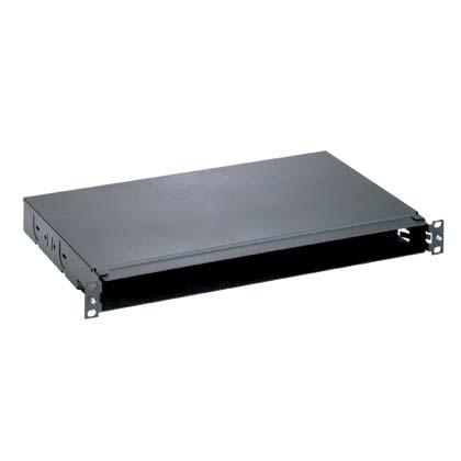 Mayer-Opticom® Fiber Tray, Straight, 1 RU, 4 Port-1