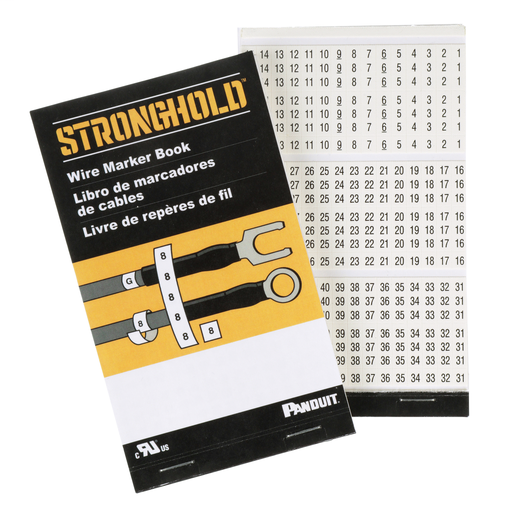 Mayer-StrongHold PCMB-13 Pre-Printed Wire Marker Books-1