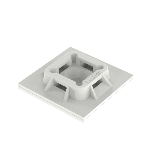 Mayer-Panduit ABM100-AT-C0 4-Way Adhesive Backed Cable Tie Mount-1