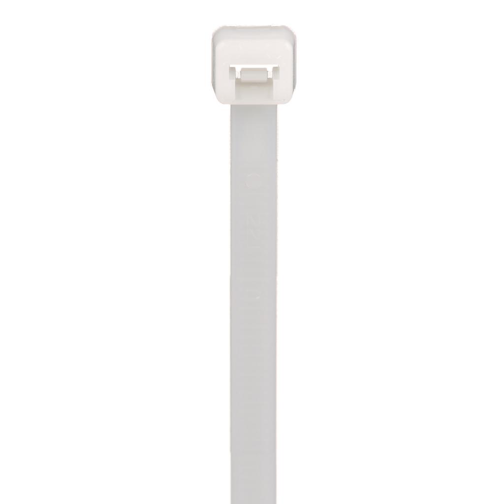 "Mayer-Panduit PLT4S-M Locking Cable Tie, Nylon 6.6, 14.5""-1"