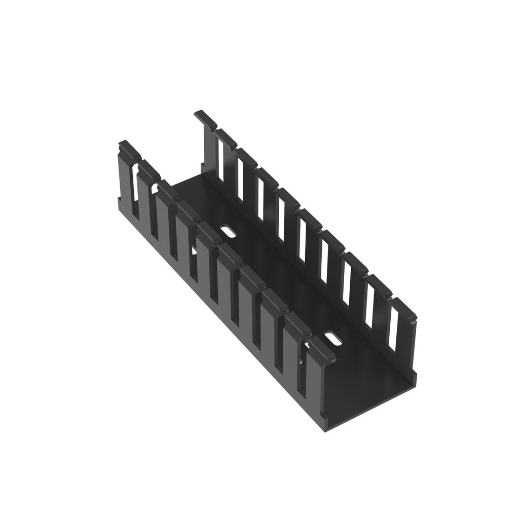 Mayer-Panduit G2X2BL6 Wide Slot Wiring Duct, No Cover-1