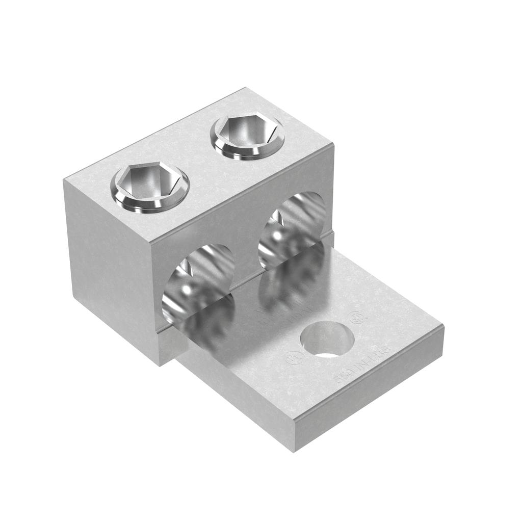 Mayer-Panduit LAM2A1/0-14-6Y Aluminum Mechanical Lug-1